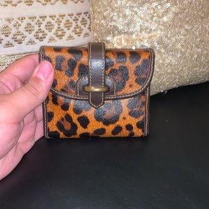 Leopard print Dooney & Bourke wallet. Gently used